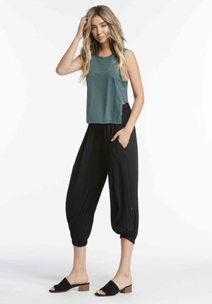 CARLA HAREM PANTS | BLACK