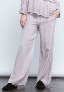 TAYLOR WIDE LEG PANT | OIL WASH TAUPE