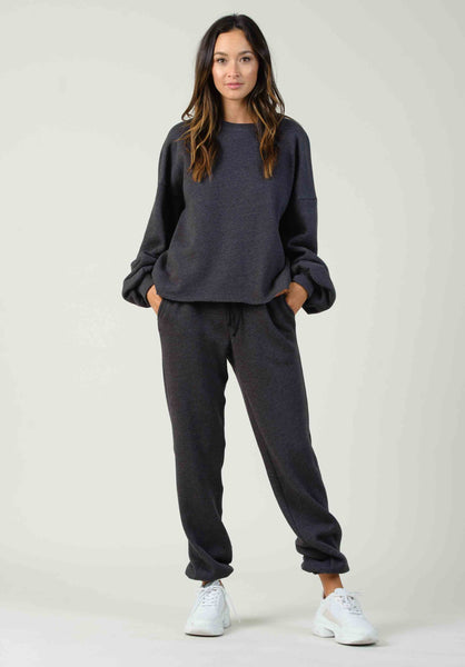DUBROVNIK SWEATPANTS | CHARCOAL