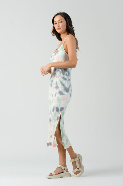 GENESIS CAMI RACER BACK MAXI DRESS | MINT