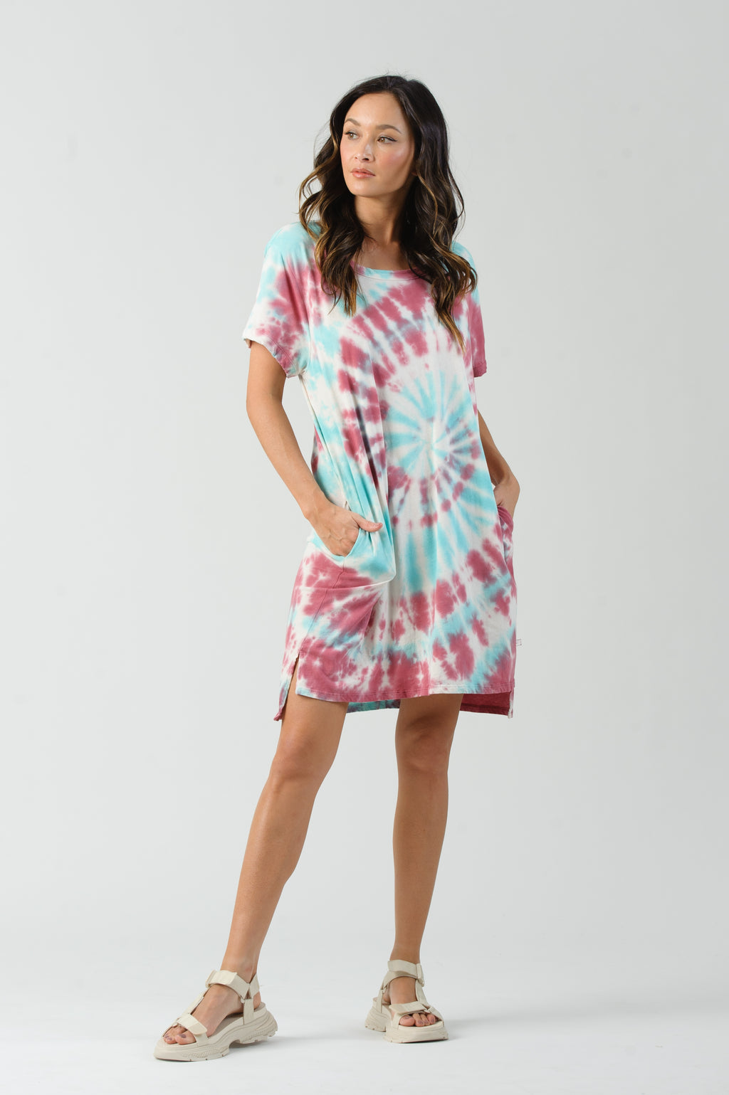 JAZZY T-SHIRT DRESS | COOLAID