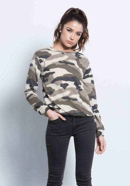 CRUISE CAMO SWEATSHIRT