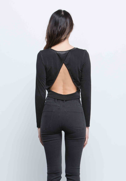 Joanna Open Back Crop Top
