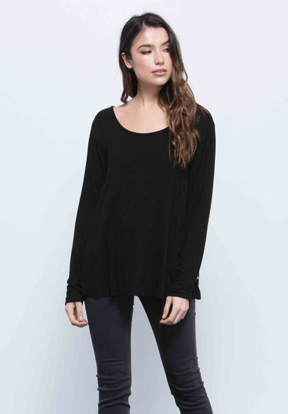 Anne Scoop Neck Top