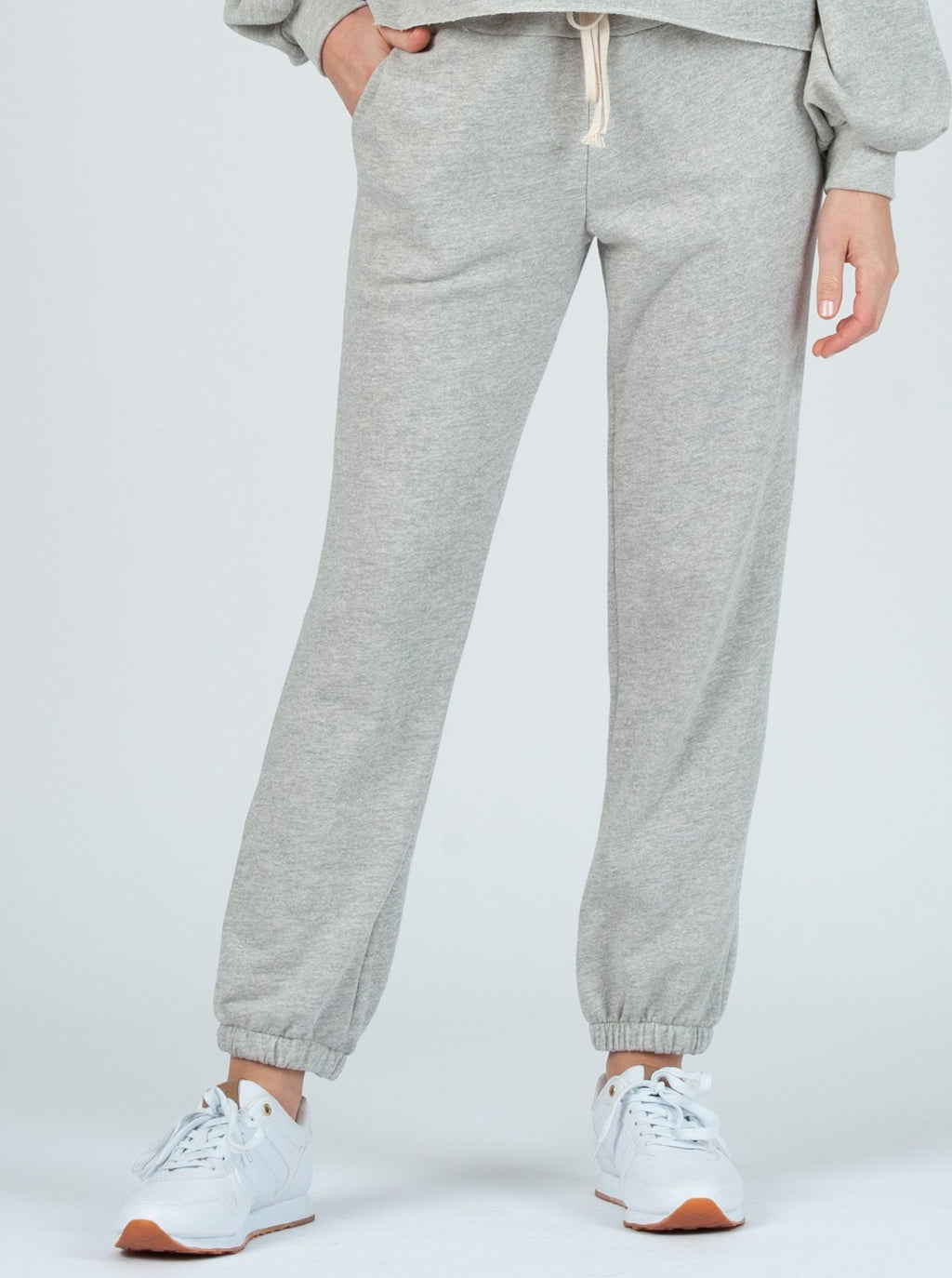 dubrovnik french terry sweat pant h grey