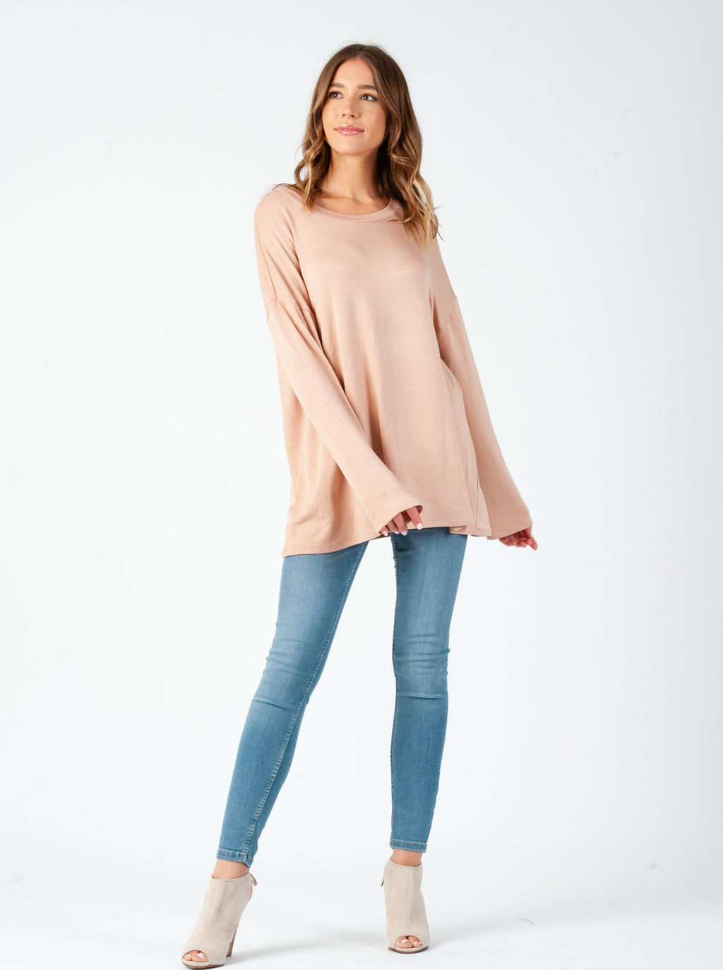 MILKYWAY LONG SLEEVE | CLAY
