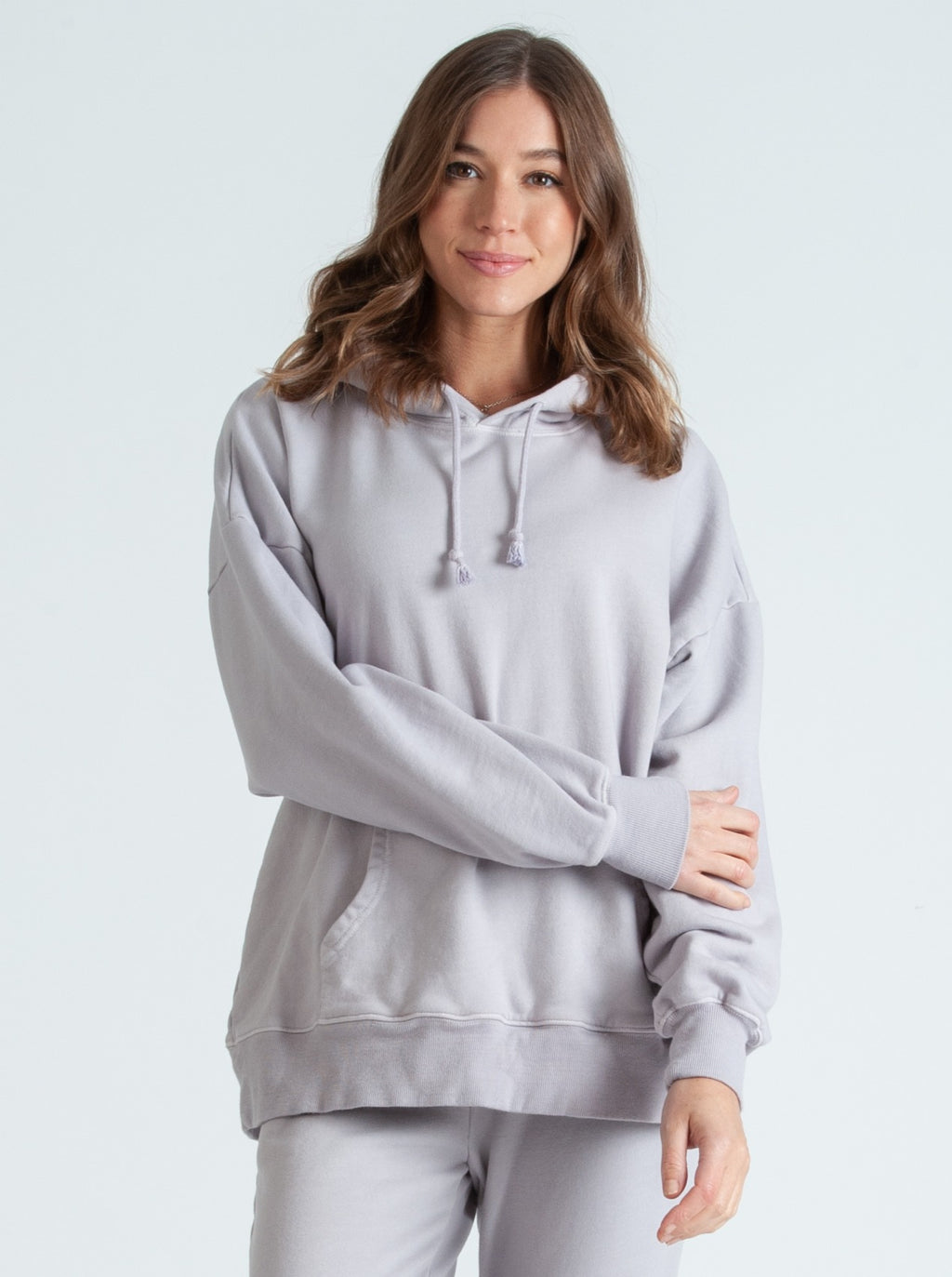 LONDON EARL GREY FRENCH TERRY HOODIE