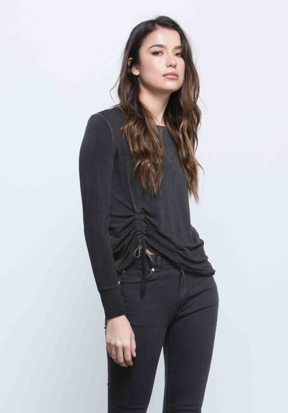Sawyer Ruched Tie Top