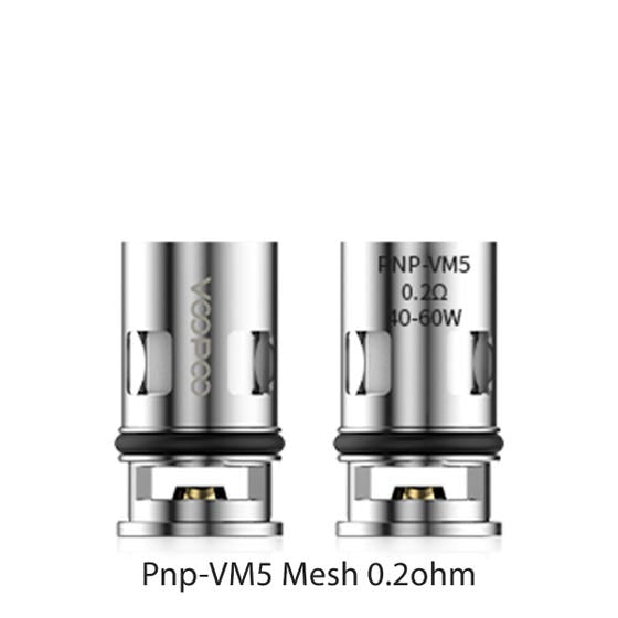 VOOPOO VINCI PNP REPLACEMENT COIL (5 PACK)