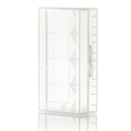 EFEST 18650 BATTERY CASE CLEAR - Clouds and Coils Vape Shop