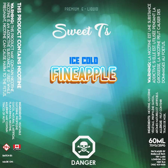 Fineapple Iced - Sweet T's