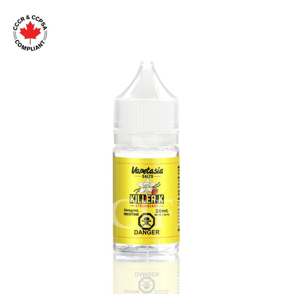 Killer K Strawberry Salt - Vapestasia