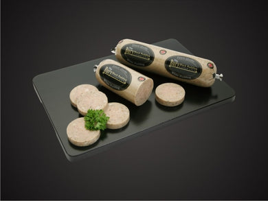 Bury White Pudding Roll - The Cheshire Butcher