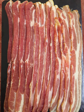 Traditional Dry Cured, Smoked Streaky Bacon