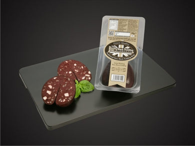 Bury Black Pudding Slices - The Cheshire Butcher
