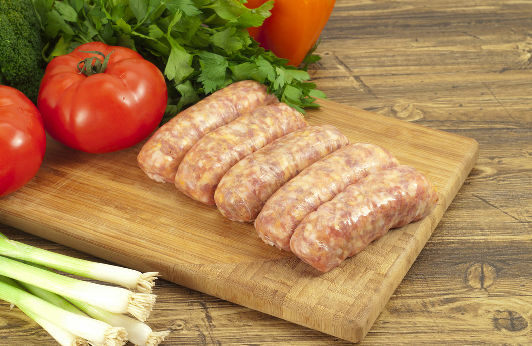 Pork and Cracked Black Pepper Sausage