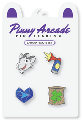 LRR Emote Pin Set