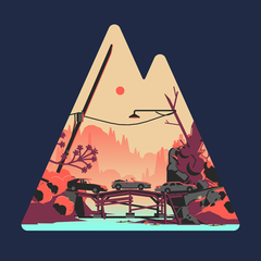Road Quest Mountain Tee