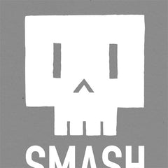 Smash Cut Skeleton Poster