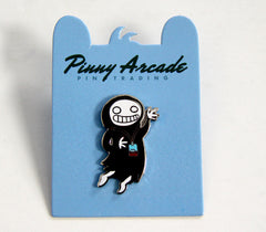 Creepy Doll Pinny Arcade Pin