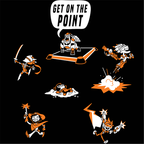 GET ON THE POINT! Shirt