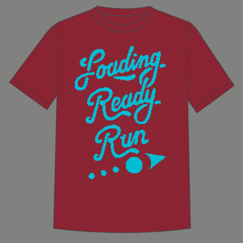 LRR Retro Pixel Shirt-Red