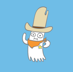 Sheriff Spoopifer pin
