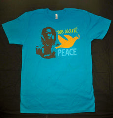 We Want Peace - Men's T-Shirt