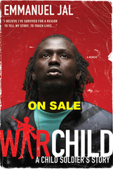 Emmanuel Jal - War Child Book