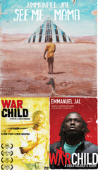 NEW!! Emmanuel Jal CD/DVD/BOOK Bundle