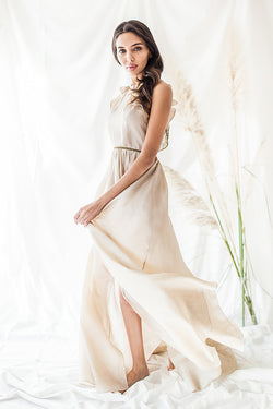 Genevieve, Ahimsa Silk - Long Dress