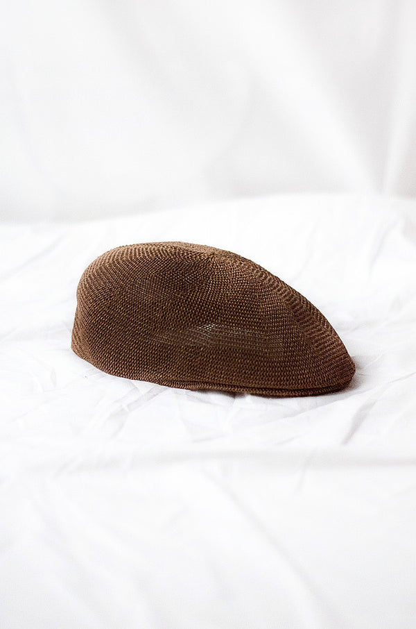 Hat Paper Boy, Natural Fibers - Choco