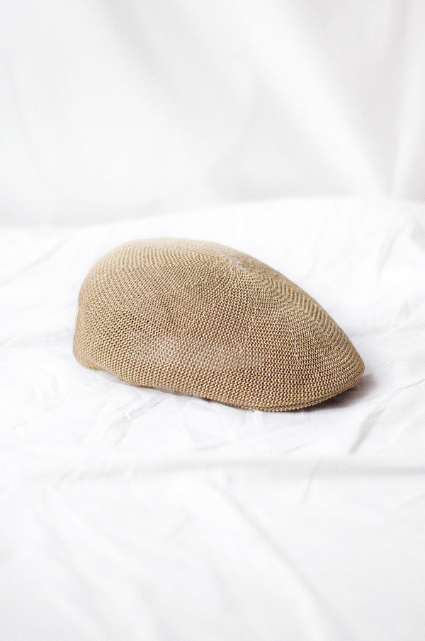 Hat Paper Boy, Natural Fibers - Tan