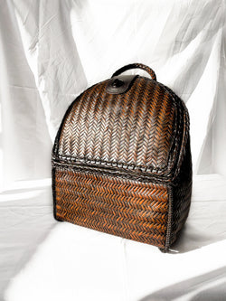 Bamboo Backpack - Natural