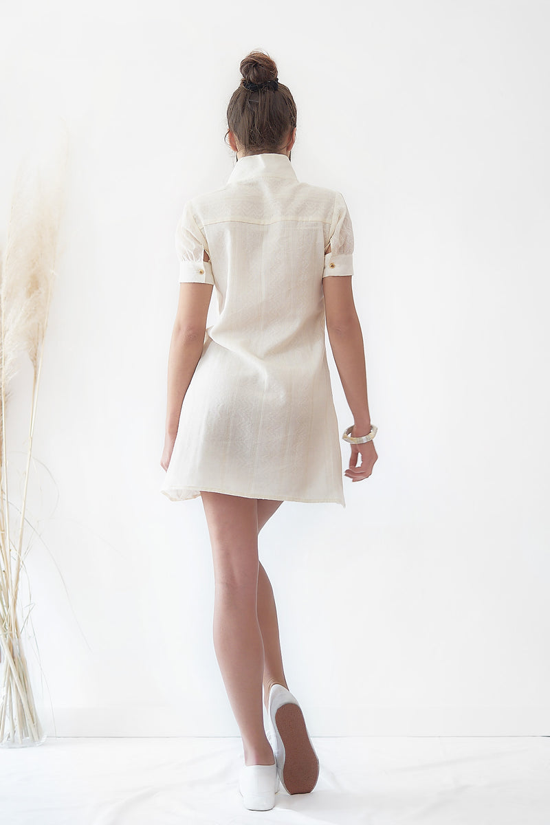 Jeanne Baret, Org. Cotton - Mid Dress - Sustainable Clothing Fashion Brand Label POETHICA®
