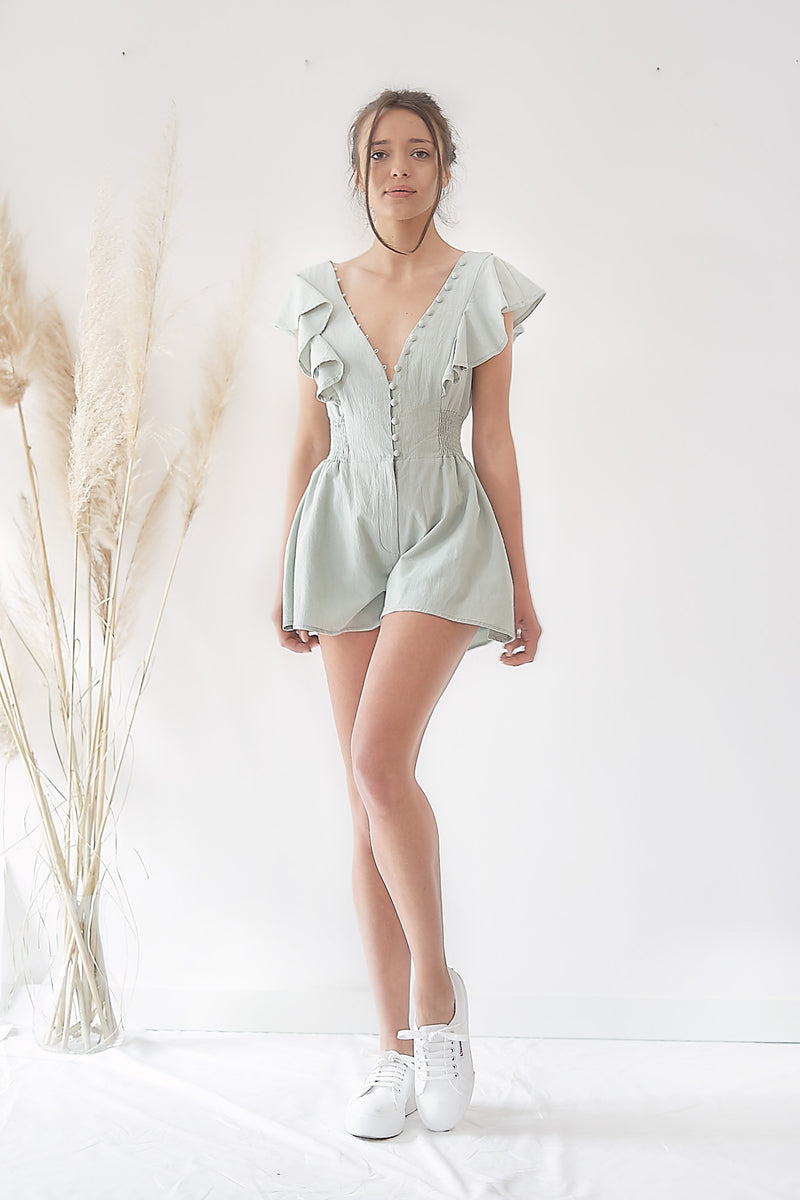 Organic Cotton - Playsuit Pageboy