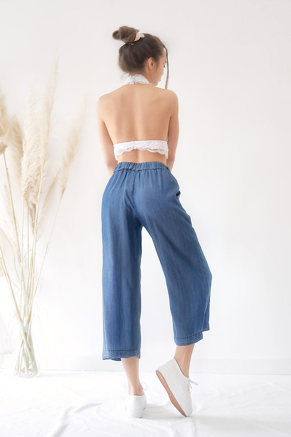 Tencel Denim - Mid Length Pants