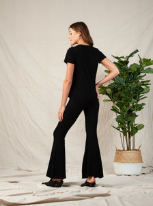 Mila Fit & Flair Pant