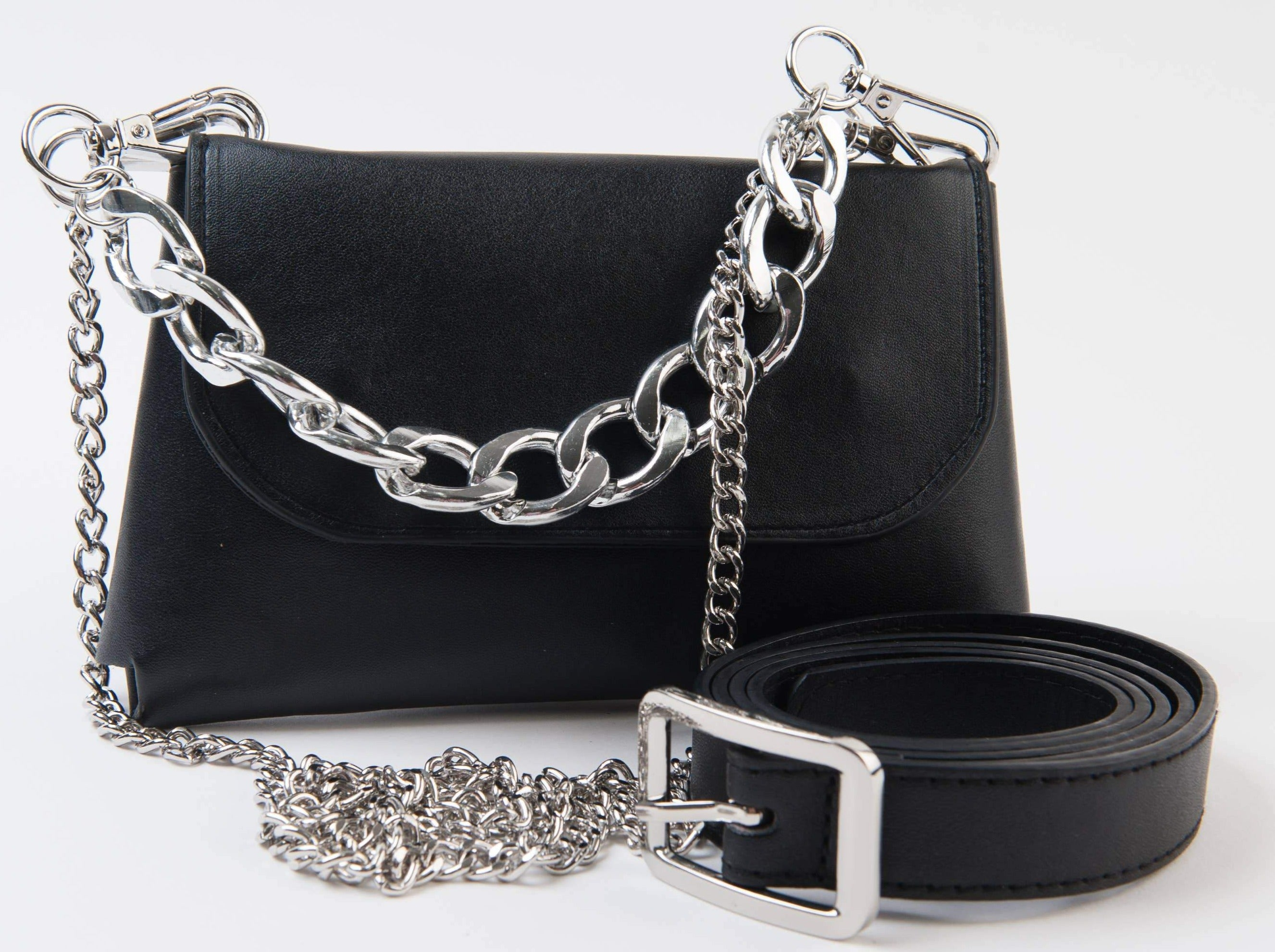 Samara Black Belt and Multi Way Bag