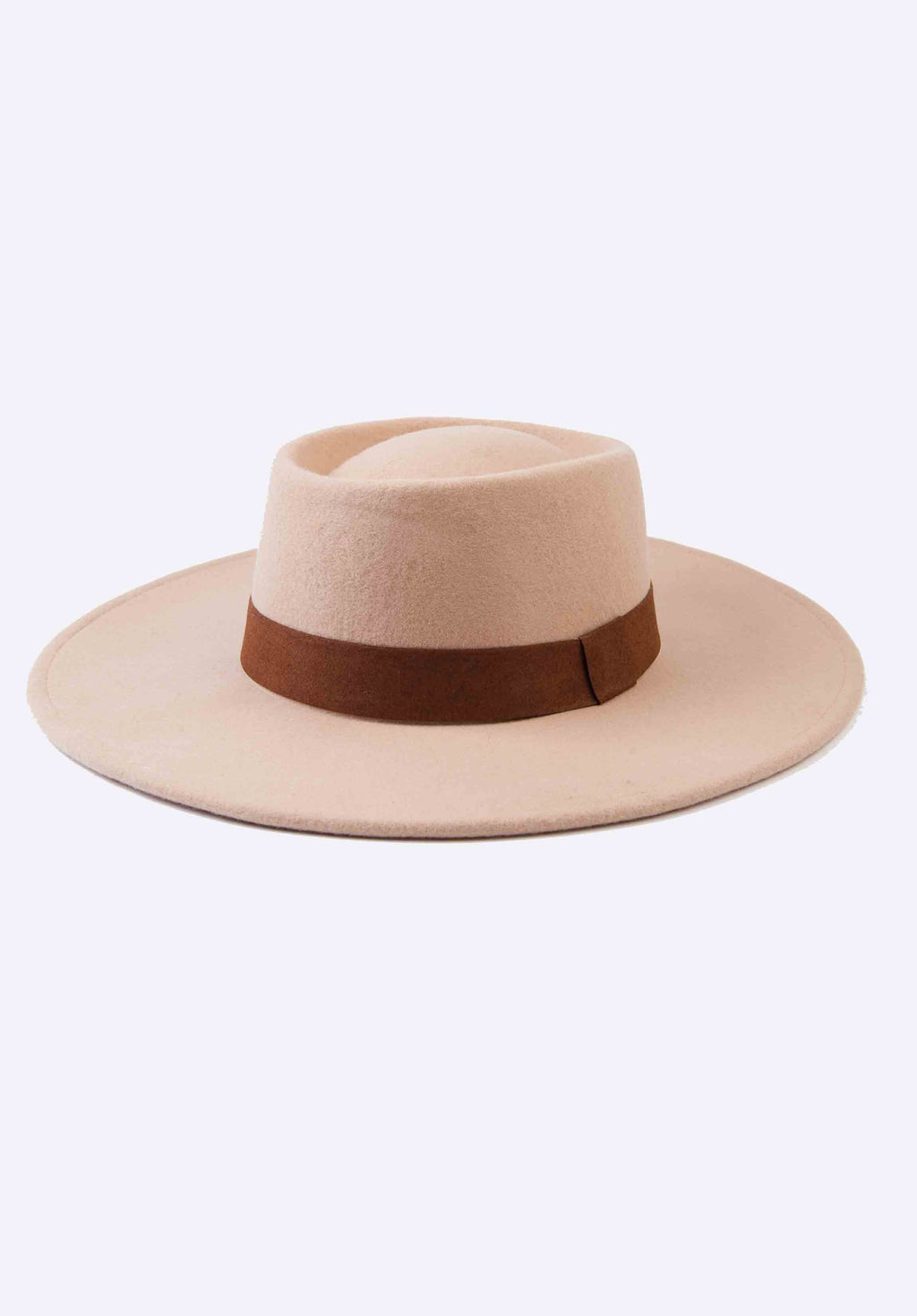 WOOL BOATER HAT | CREME