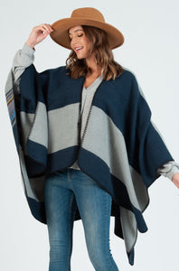 Midnight Cloud Poncho