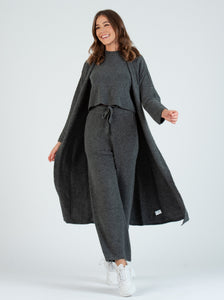 TEFF Charcoal Sweater Shell