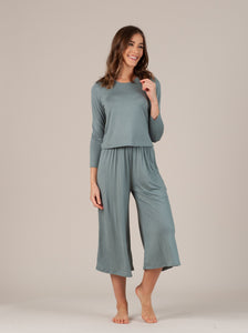 CALYPSO SAGE MINT LONG SLEEVE & PANT SET
