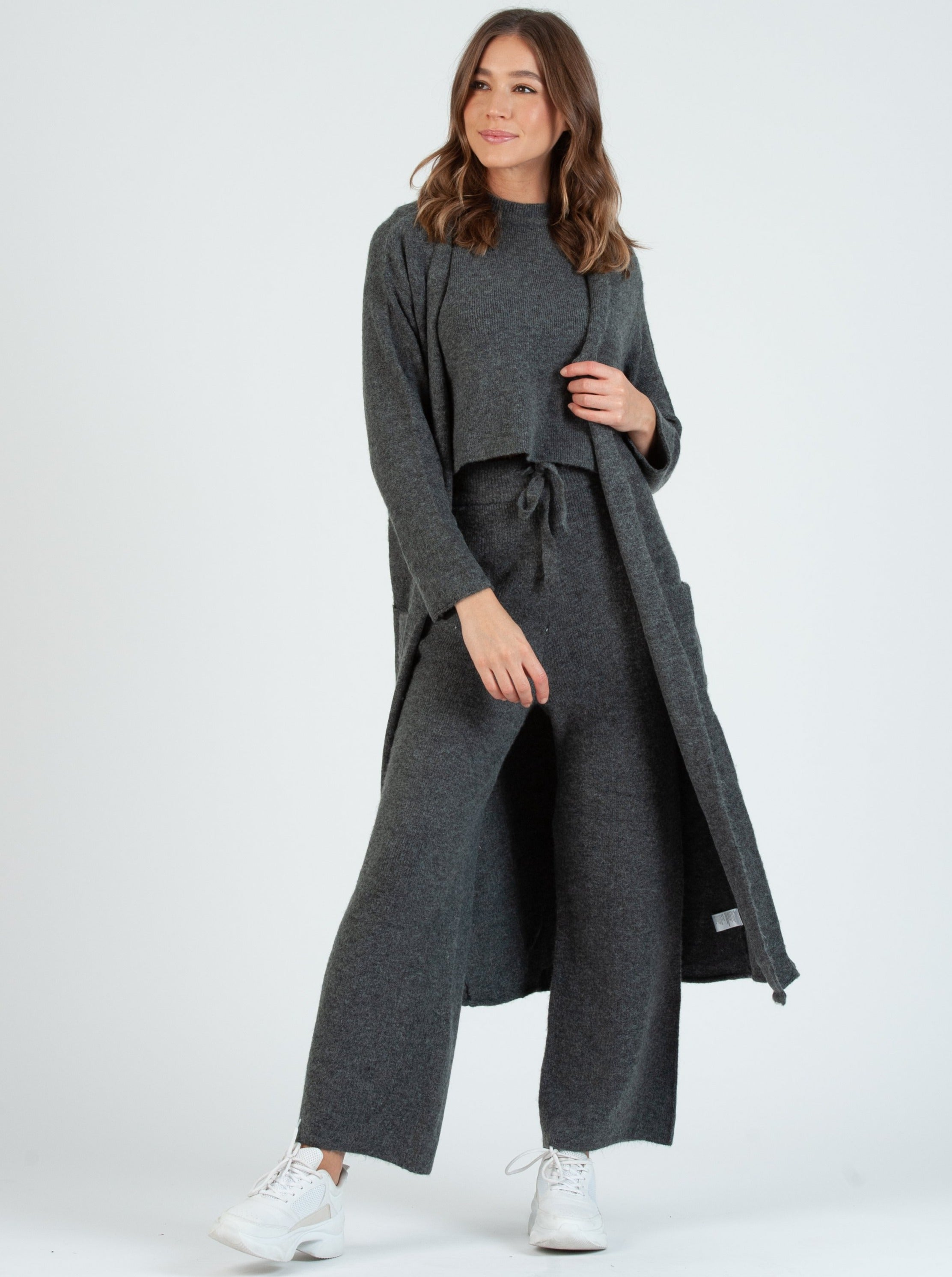 TEFF Charcoal Sweater Pants