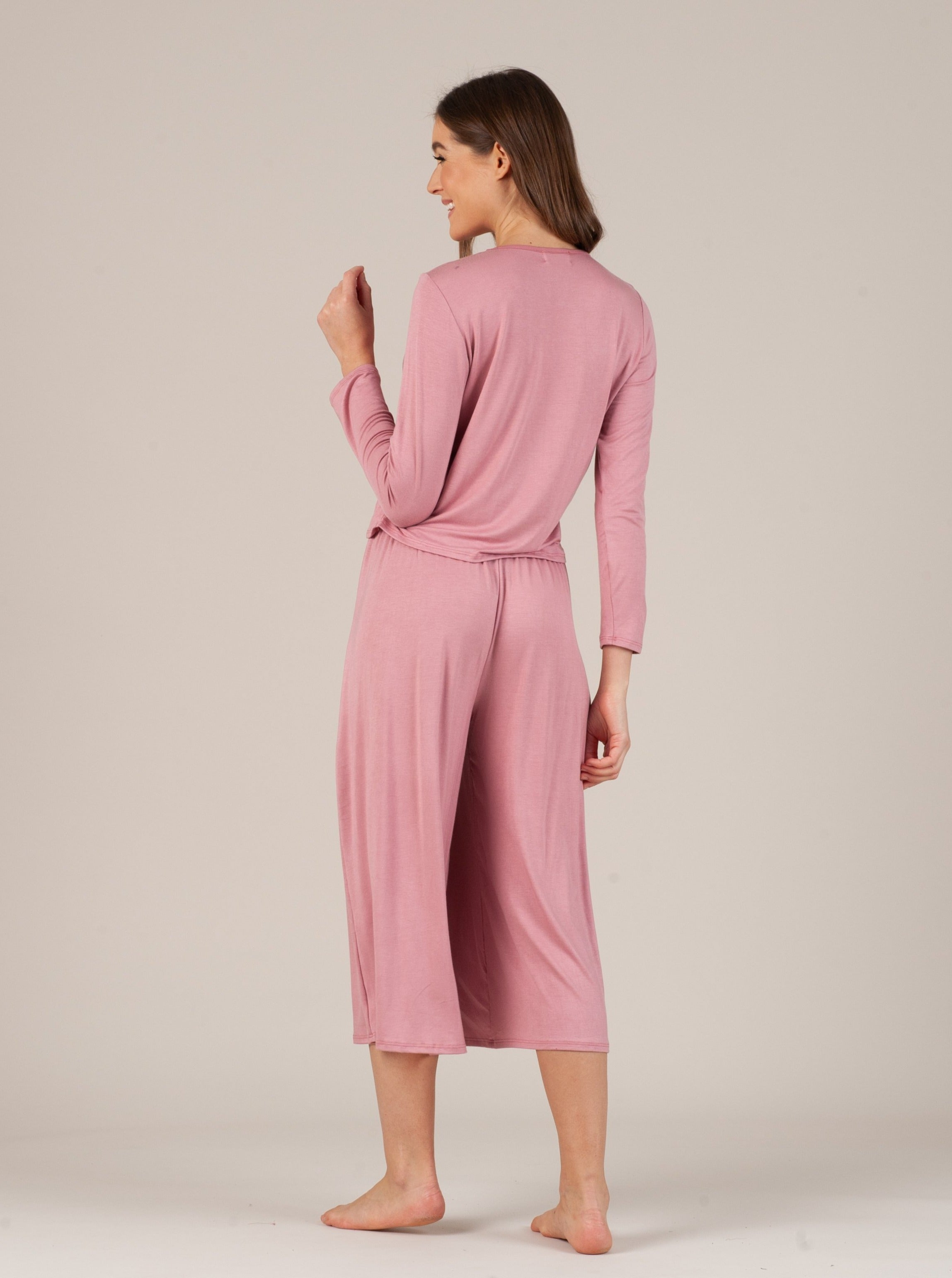 CALYPSO PINK LONG SLEEVE & PANT SET