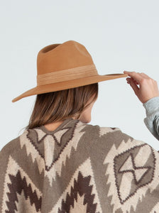 WILDFLOWER TAN FEDORA
