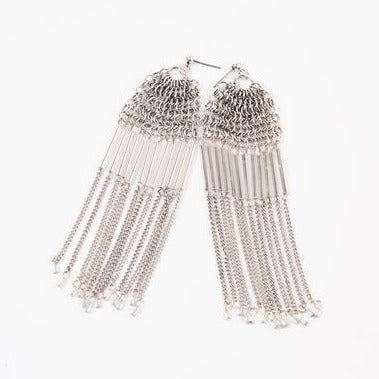 LAVINIA SILVER EARRINGS