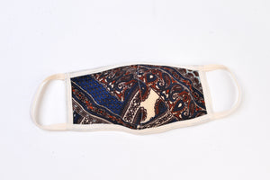 Vintage Paisley Print Cloth Face Mask