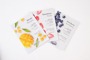 DAILY FRUIT PEEL OFF FACE MASK PACK OF 3