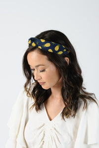 PINEAPPLE PRINT HEADBAND